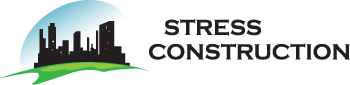stress free construction logo
